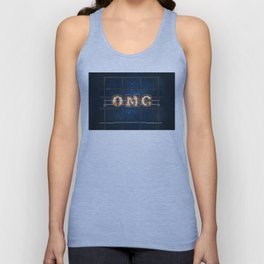 OMG - Hotel - Wall-Art for Hotel-Rooms Unisex Tank Top