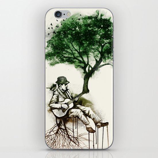 'In the rhythm of nature' iPhone & iPod Skin