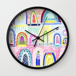 Arches Study #1 Wall Clock
