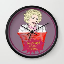 Once Upon A Time's Roni - The Poisoned Apple Drink Wall Clock
