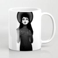 morning Mugs featuring Morning Star by Ruben Ireland
