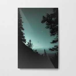 Moonlight Poem Metal Print