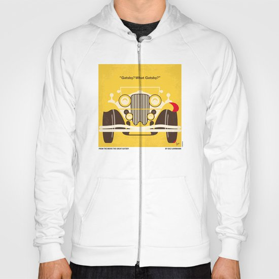 No206 My The Great Gatsby minimal movie poster Hoody