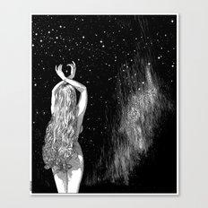 asc 604 - L'invocation à Vénus (Venus under the sky) Canvas Print