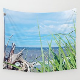 Through Grass and Driftwood Wall Tapestry