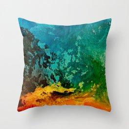 Rainbow Mashup 2 Throw Pillow