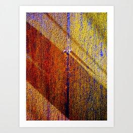 Morning, Texture Art Print