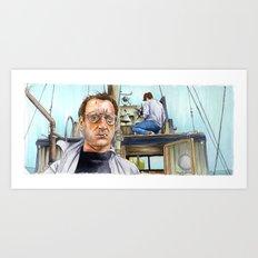 Jaws - We're Gonna Need a Bigger Boat Art Print