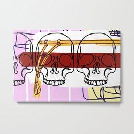 3 Knuckle Heads Metal Print