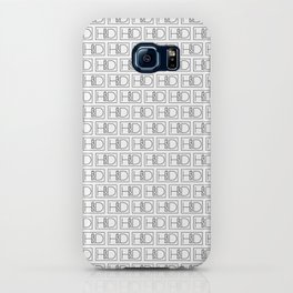 HD Soap Black Tiled on White iPhone Case