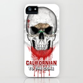 To The Core Collection: California iPhone Case