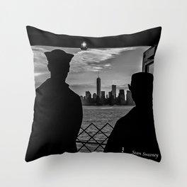 Veteran's Day NYC Throw Pillow