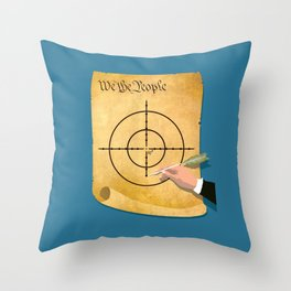 The President Has Constitutional Power To Target And Kill U.S. Citizens Abroad Throw Pillow