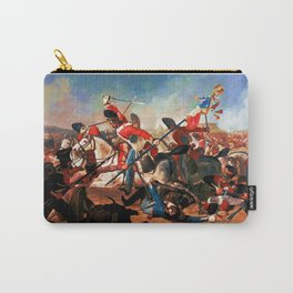 The Scots Greys during the charge of the Union Brigade Carry-All Pouch
