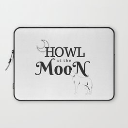 Howl at the Moon Laptop Sleeve