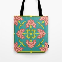 flora Tote Bags featuring Flora by nandita singh