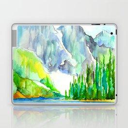 Lake Louise Watercolor Laptop & iPad Skin