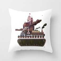 Military-Industrial Complex Throw Pillow