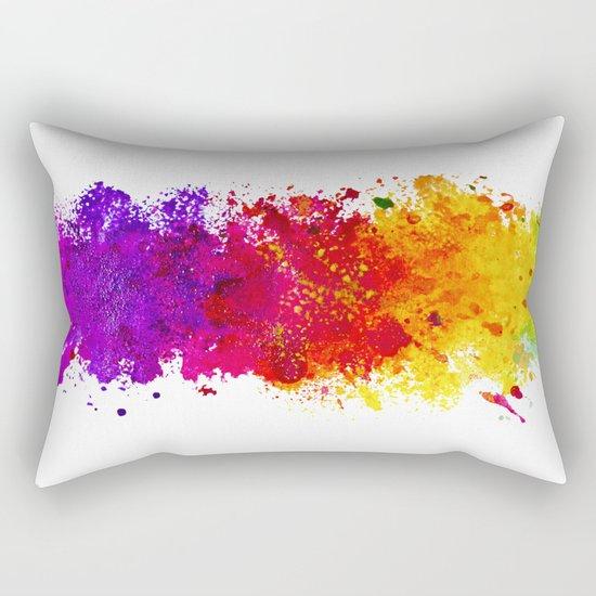 Color me blind Rectangular Pillow