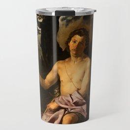"Diego Velázquez ""Saint John the Baptist in the Wilderness"" Travel Mug"