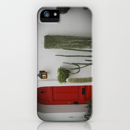 L'Hacienda à Montreal ou le Mexique  iPhone Case