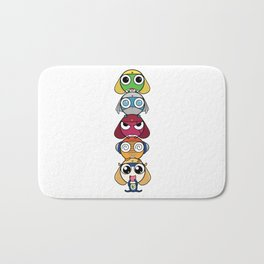 Leap Frogs in Space!! Bath Mat