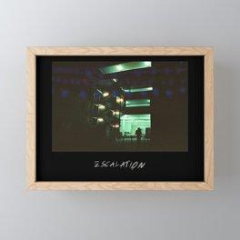 ESCALATION Framed Mini Art Print