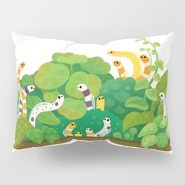 Garden eel Pillow Sham