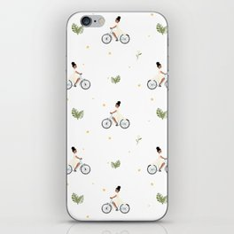 Bike Ride Pattern iPhone Skin