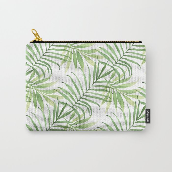 Tropical Branches Pattern 05 Carry-All Pouch