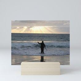 Carmel Fisherman Mini Art Print