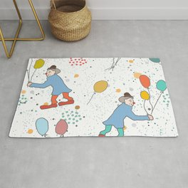 Clown Party Rug