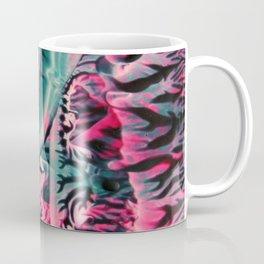 Teal Pink Abstract Coffee Mug