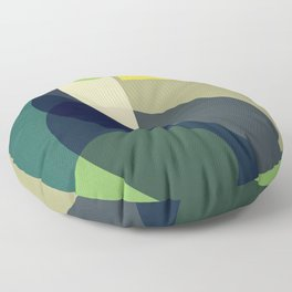 Mid Century Toucan Floor Pillow