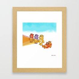 Care Bear Ahhhhh Framed Art Print