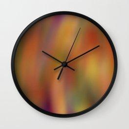 Soft Abstract Wall Clock