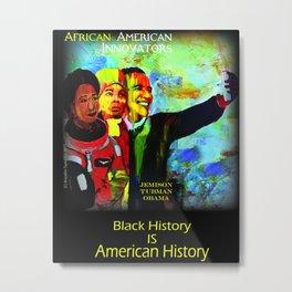 African American Innovators Metal Print