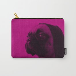 Pink Pug Carry-All Pouch