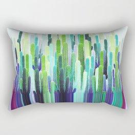 Cacti Stripe Rectangular Pillow