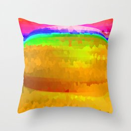 Hidden But Not Gone Throw Pillow