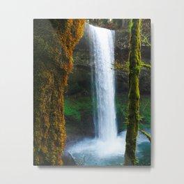 Silver Falls Oregon Metal Print