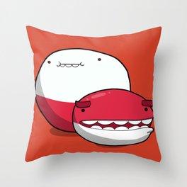 Pokémon - Number 100 & 101 Throw Pillow