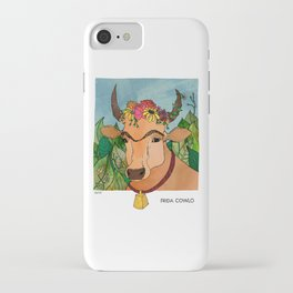 Frida Cowlo iPhone Case