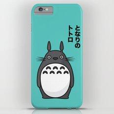 Totoro Pop Art - Blue Version Slim Case iPhone 6 Plus
