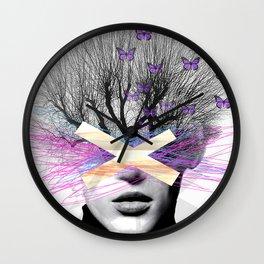 BUTTERFLIGHT Wall Clock