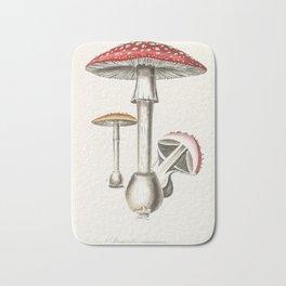 Amanita muscaria Fly agaric red mushroom Bath Mat