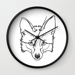 The Original Fox Wall Clock
