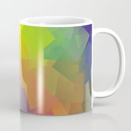 Abstract cubism -2- Coffee Mug