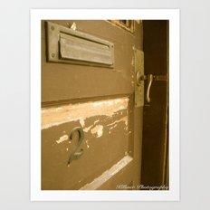 Behind Door Number Two Art Print