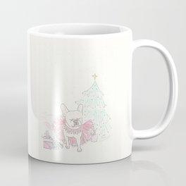 Sweet Sugar Plum Frenchie Christmas Holiday Card Coffee Mug